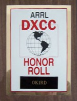 DXCC HONOR ROLL