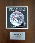 DXCC HONOR ROLL nr. 1